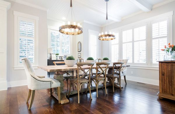 Everyday tips for decorating the dining table - How to decorate a dining room ...