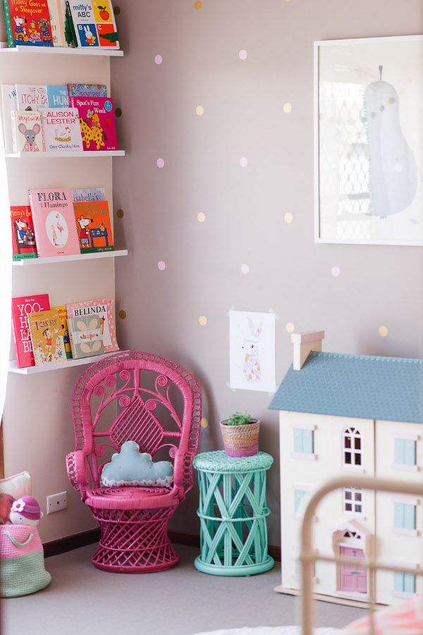 Attractive Decorate With Pastels.