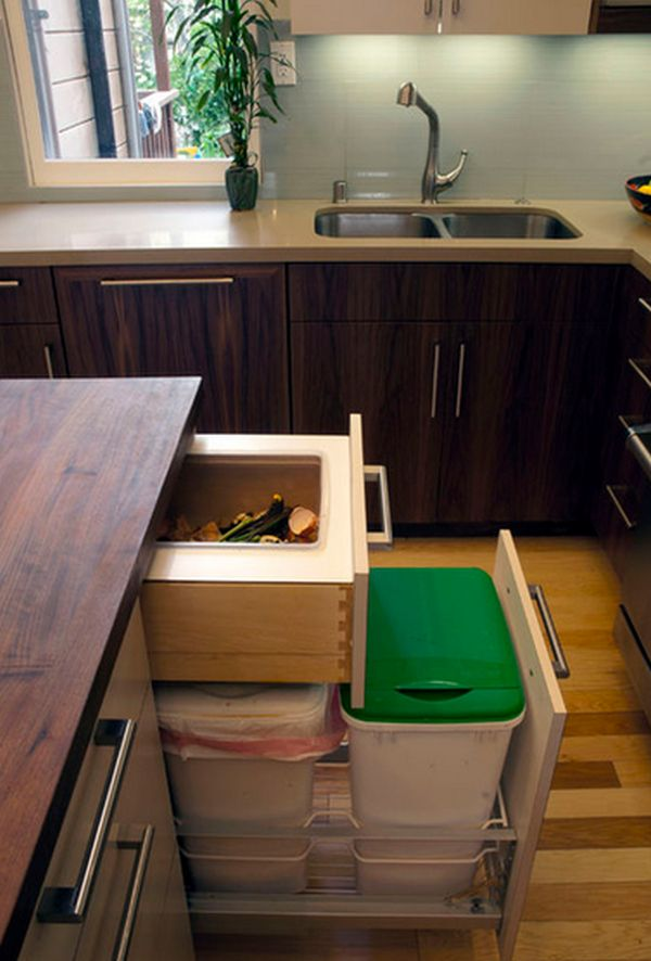 A Few Practical Ways Of Incorporating Dustbins Into Your