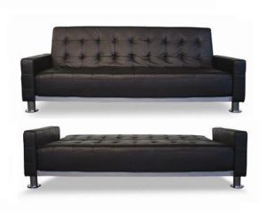 Fina leather sofa by AthomeUsa