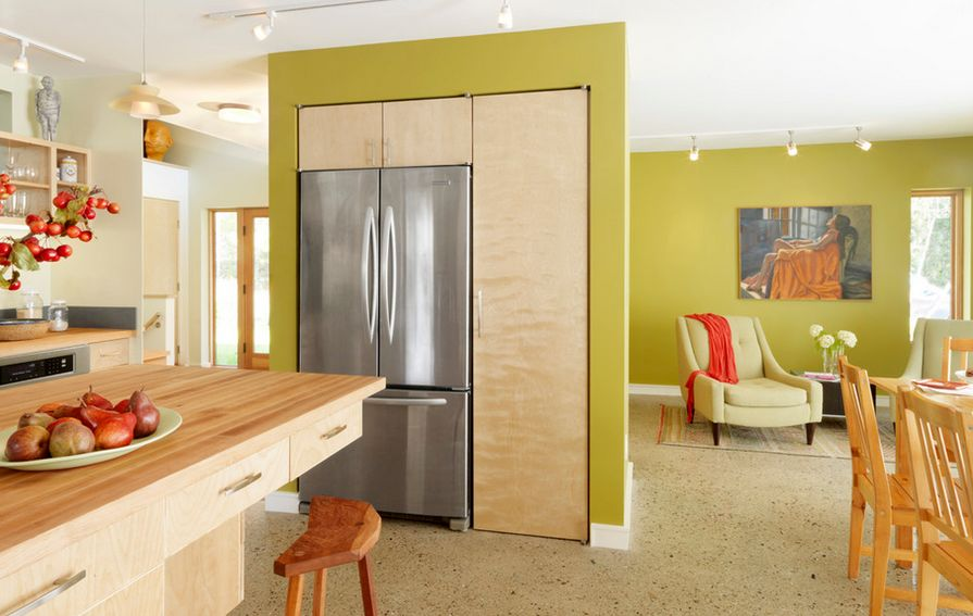 Kitchen Design Refrigerator where would you place the fridge in your home?