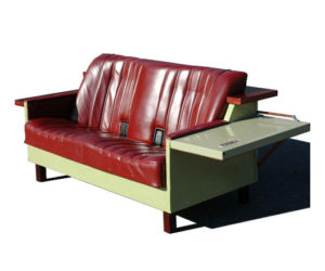 Remaking A Vintage Couch · Fridge Couch Made From Recycled Refrigerator Photo