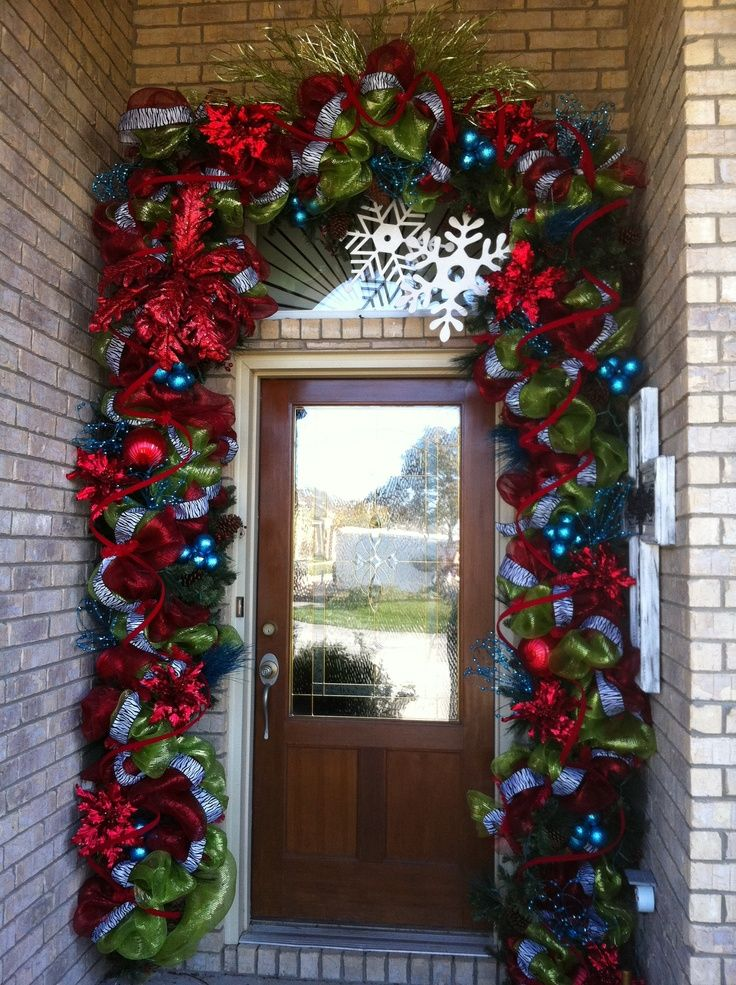 Decorate the front door.