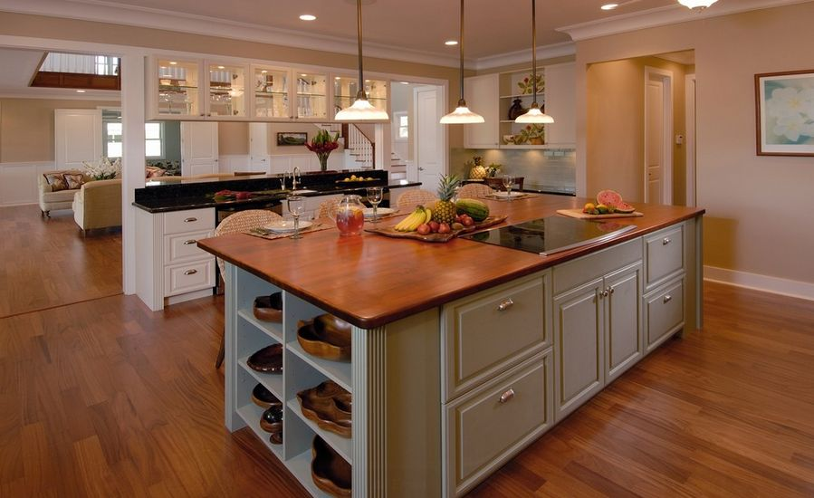 Kitchen Island With Electric Stove