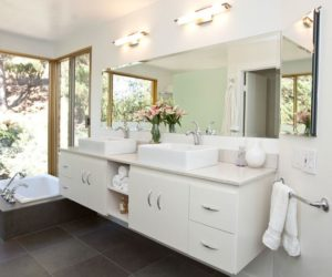 Bathroom Vanity Lighting Tips · Tips For Lighting Up Your Bathroom More  Efficiently