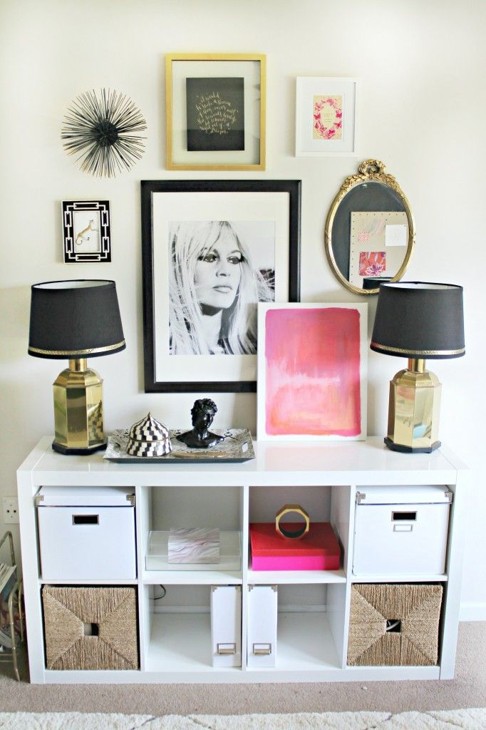 how to bring a few feminine accents into your home