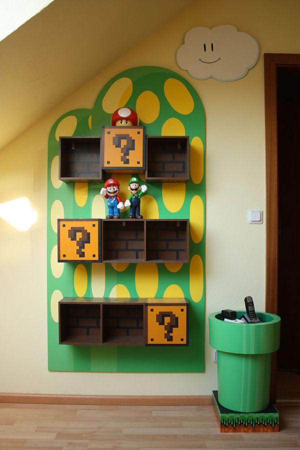 Merveilleux Super Mario Furniture For Fans