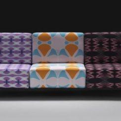 Colorful Matrix Sofa By Karim Rashid