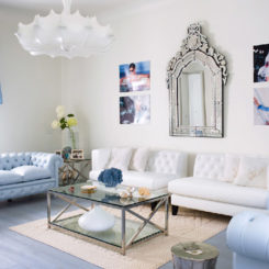 Blue And White Living Rooms cool blue living room ideas