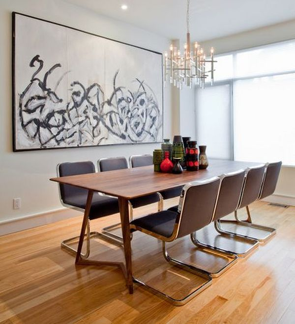 Everyday tips for decorating the dining table for Decorating a large dining room wall