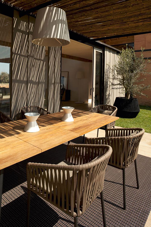 Bitta Modular Patio Furniture By Spanish Company Kettal - Spanish patio furniture