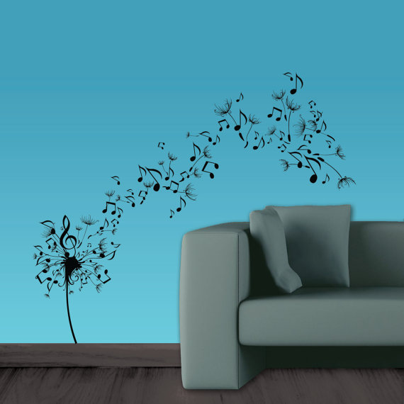 Wall Decor Music Theme : Theme your room to music