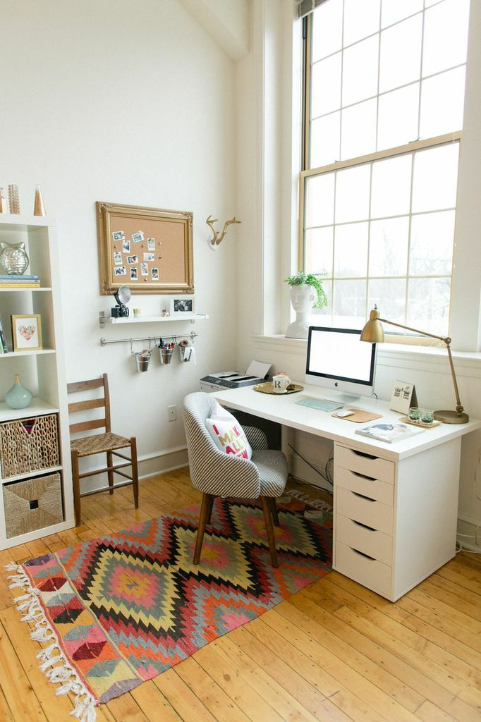 How to decorate and furnish a small study room - How to decorate room ...