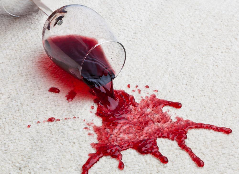 Image result for red wine stain on carpet