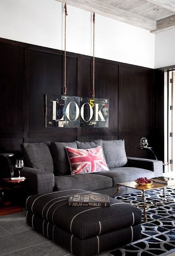 Masculine Decor how to include masculine details into your home's décor
