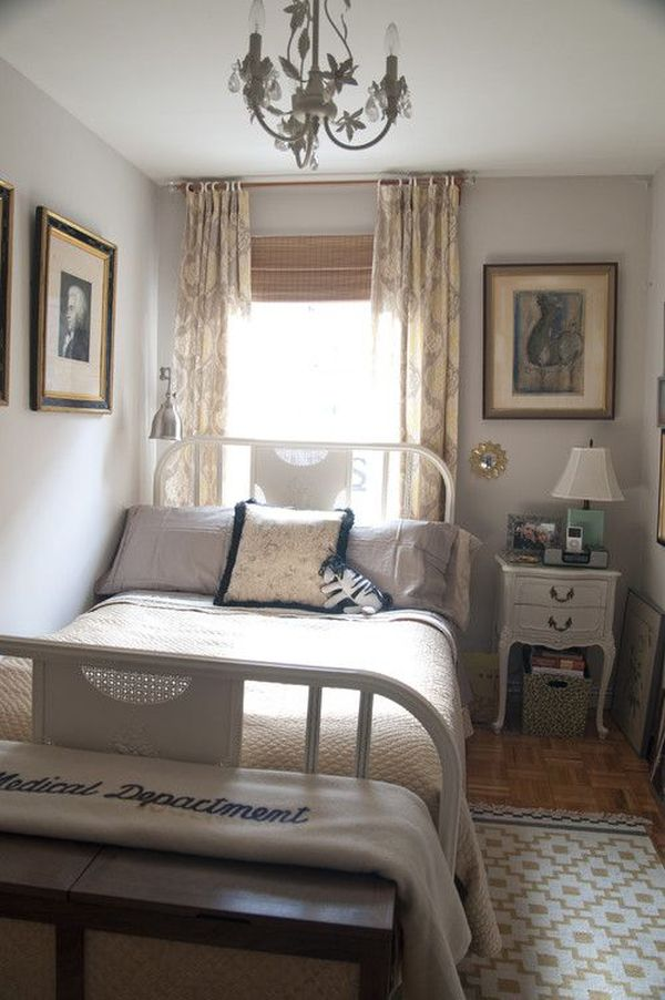 A few useful decorating ideas for small bedrooms for Small room inspiration