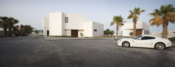 Beautiful Star House in Bnaider, Kuwait by AGi Architects