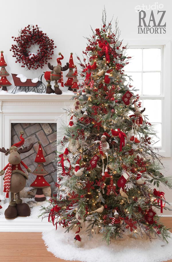 13 off beat ways to decorate the christmas tree this year - Photos Of Decorated Christmas Trees
