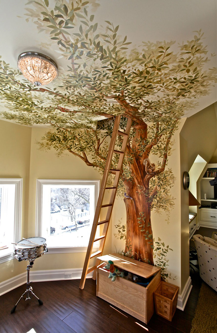 5 fun themes that turn kids  bedrooms into wonderlands treehouse roof treehouse romantic breaks