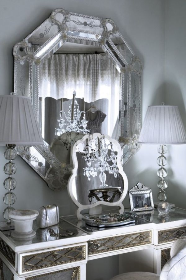 Mirror decoration at home