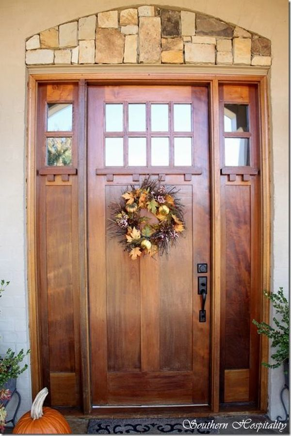 wooden front doorMetallic Or Wooden Front Door Which One Do You Prefer
