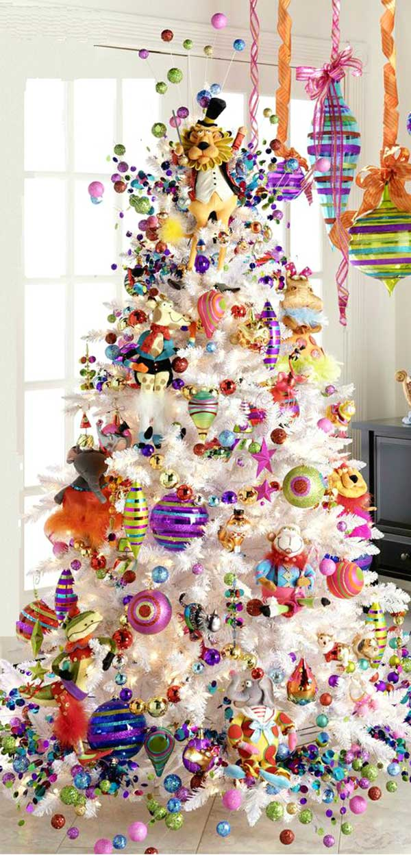 view in gallery - Decorative Christmas Trees
