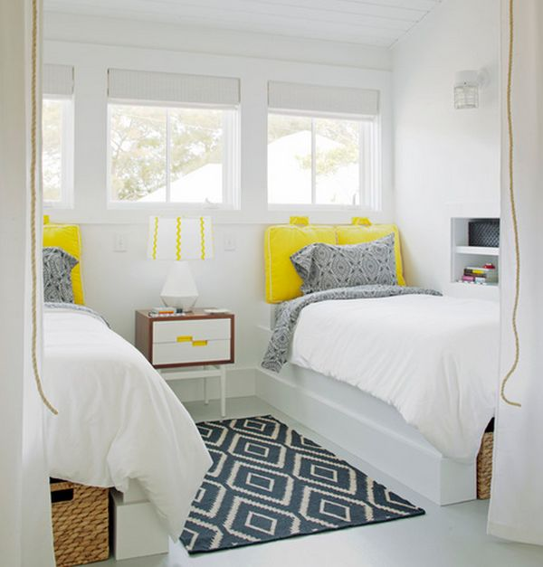 keep the room clean and clutter free - Ikea Shared Kids Room
