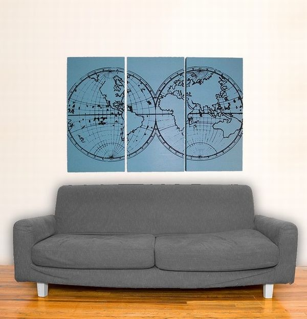 5 maps decorating ideas