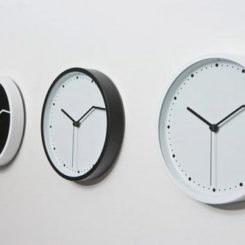 On Time Wall Clock From Fabrica