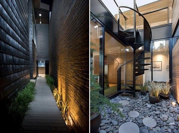 Fashionable Modern Building In Portland Oregon