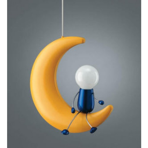 Man On The Moon Pendant Light