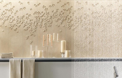 Ceramic Floral Tiles By Lafabbrica Spa
