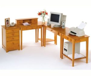 5 Piece Studio Home Office by Winsome Wood