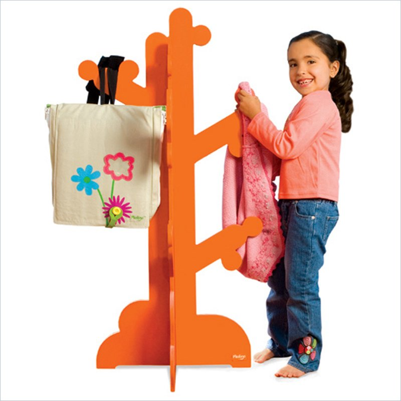 Wooden Clothes Rack For Kids From Pkolino