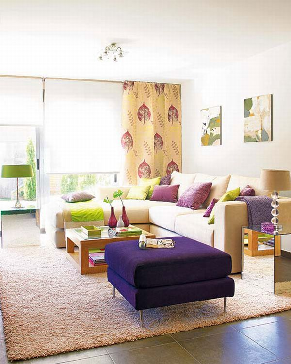 ... Colorful Living Room Design Can Really Be. View In Gallery