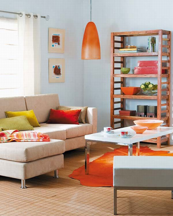 Colorful living room interior design ideas for Colorful living room furniture