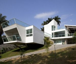 Ultra modern FB house in Brazil