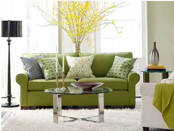 High Quality Spring Green Living Room · View In Gallery Part 22