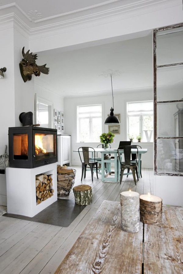 Industrial Danish Home Interior Design