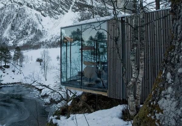 - Juvet Landscape Hotel In Gudbrandsjuvet, Norway