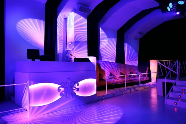 Exceptional Fascinating Nightclub In Barcelona Photo