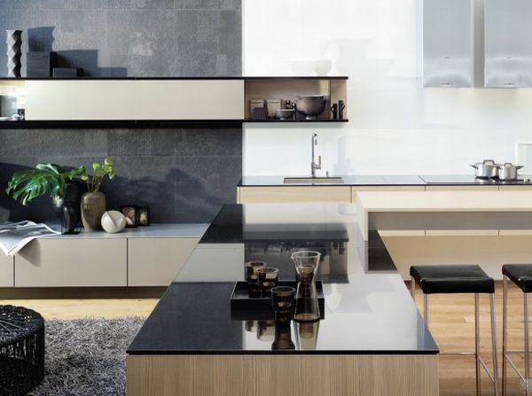 Attractive Modern German Kitchens From Poggenpohl Design Ideas