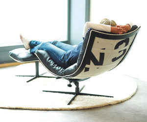 Spinnaker Chair Made From Recycled Boat Sails