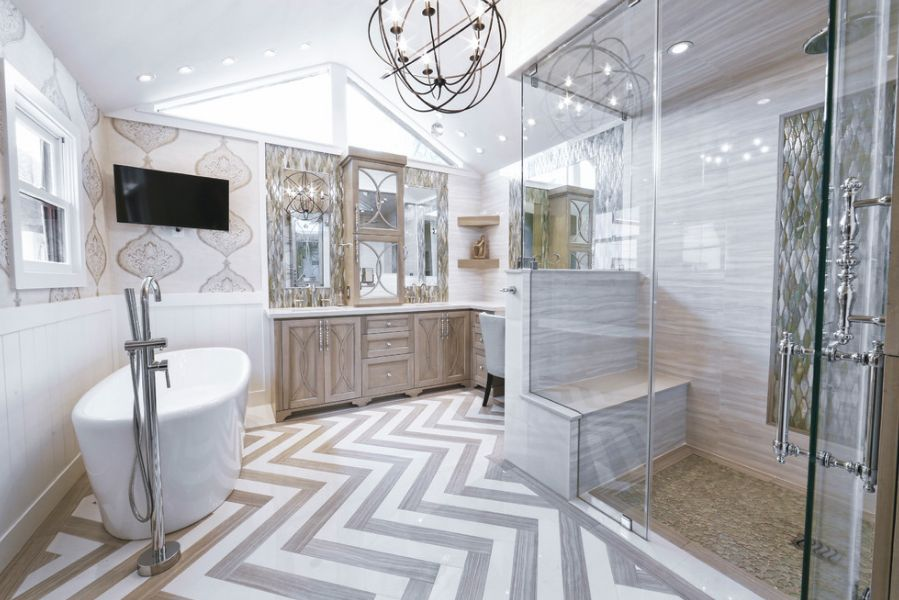 How To Decorate Bathroom Glamorous How To Decorate Large Bathroom Spaces Decorating Design