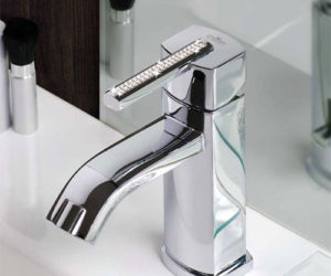 3 Luxury Swarovski Bathroom Faucets