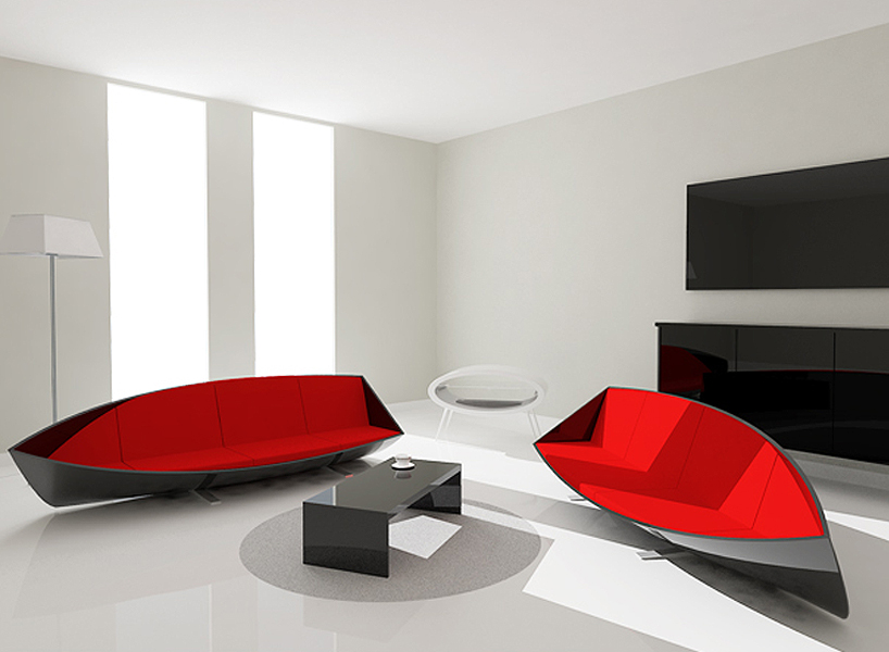 Perfect Unusual Boat Sofa By Bongyoel Yang Ideas