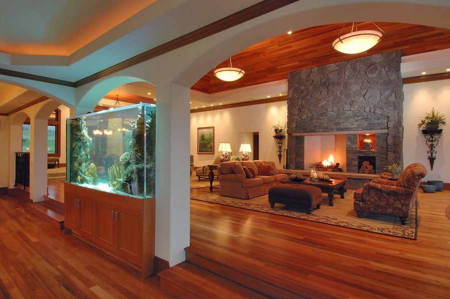 Where to place the fish tank in the house for The fish place
