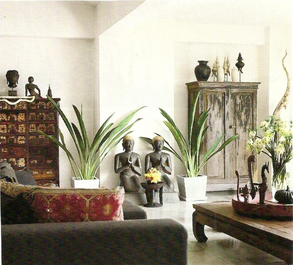 Home decorating ideas with an asian theme for Japanese home decorations
