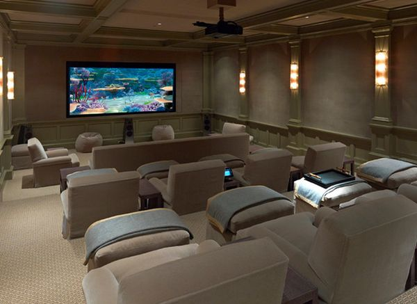 how to design and plan a home theater room - Home Theater Rooms Design Ideas