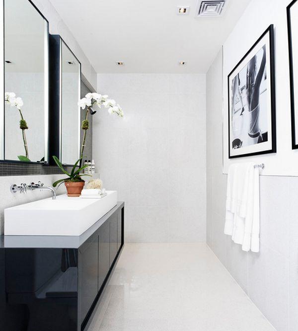 bathroom - Simple White Bathrooms